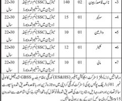 Elementary & Secondary Education Department Sindh Jobs Aug 2019 Latest Vacancies