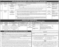 PPSC Agriculture Department Jobs 2019 Field Assistant Test Pattern & Sample Paper Last Date
