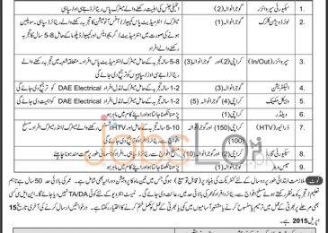 National Logistics Cell NLC Pakistan Job Opportunities 2015 Karachi & Gujranwala