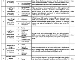Punjab Higher Education Commission HEC Jobs 2019 Application Form Download Current Openings