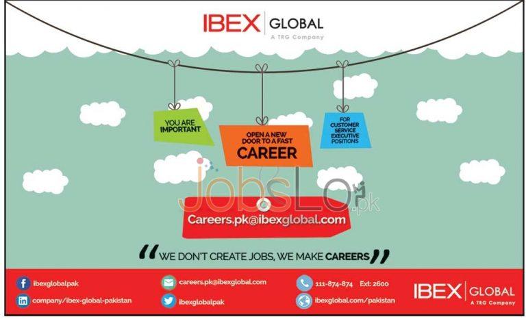Ibex Global Job Openings in Pakistan 2015