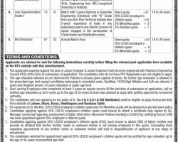 WAPDA LESCO Jobs 2019 Lahore NTS Application Form Latest Advertisement