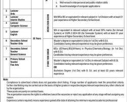 HR 1384 Jobs 2019 Apply Online | Public Sector Educational Institute |  www.hr1384.com.pk