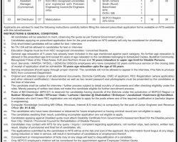 Sukkur Electric Power Company SEPCO Wapda Jobs 2019 NTS Application Form Download Latest