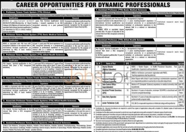 SZABMU PIMS Islamabad Jobs 2015 for Dynamic Professionals