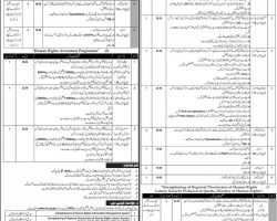 Ministry of Human Rights Pakistan Jobs 2019 NTS Online Form Download | nts.org.pk