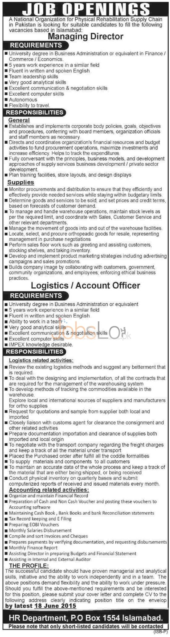 National Organization Jobs