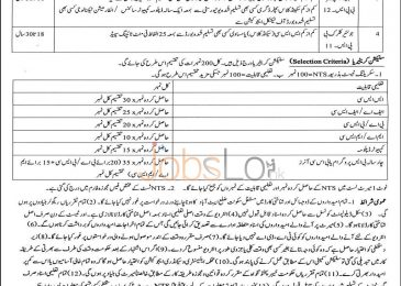 KPK Elementary & Secondary Education Abbottabad NTS Jobs 2015 Stenographer & Junior Clerk
