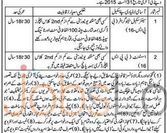 Peshawar High Court Stenographer & Assistant Jobs 2015 DI Khan Bench