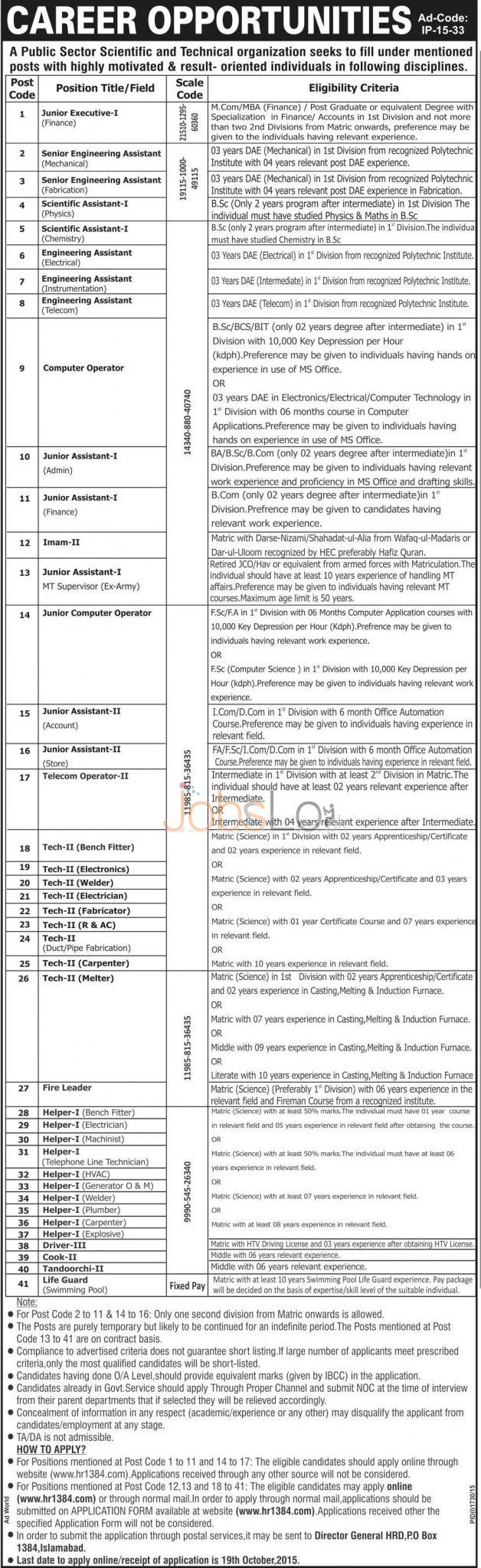 www.hr1384.com jobs 2015 Apply Online Application Form
