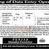 Punjab Education Foundation Jobs Application Form 2015 for Data Entry Operator