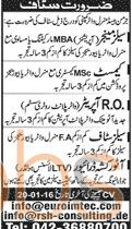 German Based Mineral Water Company Jobs 2016 Staff Required