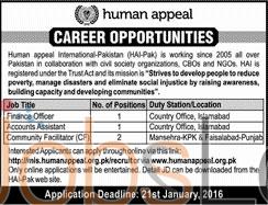 Human Appeal International Pakistan Jobs Latest Advertisement
