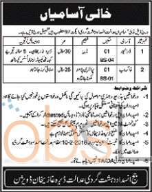 Anti Terrorism Court Vacancies in DG Khan 2016