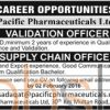 Pacific Pharmaceuticals Limited Jobs Latest Advertisement 17th January 2016