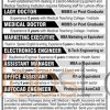 Medical Teaching Institution Jobs Staff Required 2016 Lahore