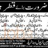 Staff Required in Qatar Jobs 2016 for Operator and Steel Fixer