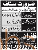 Zafraan Recruiting Agency Rawalpindi 2016 Jobs