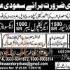 Urgent Jobs in Saudi Arabia 2016 for Labour & Driver