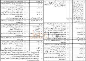 Jacobabad Institute of Medical Sciences JIMS Jobs 20 March 2016 Healthcare Faculty