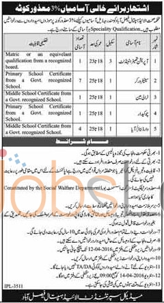 Health Department Allied Hospital Jobs