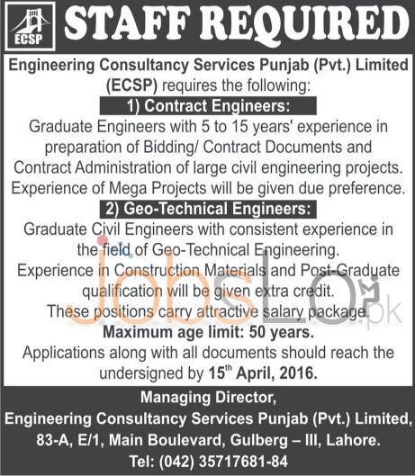 ECSP Jobs