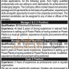National Power Parks  Management Company Pvt Ltd Jobs 2016 Eligibility Criteria