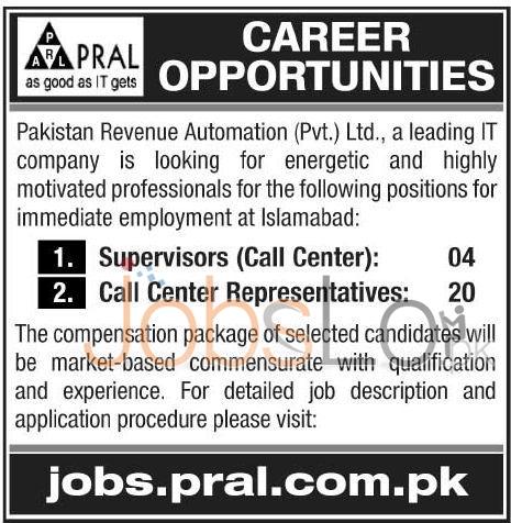 PRAL Jobs
