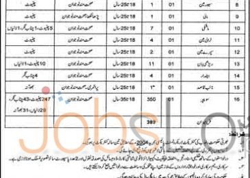 TMA Chiniot Jobs April 2016 For Non-Teaching Staff Test & Interview Date