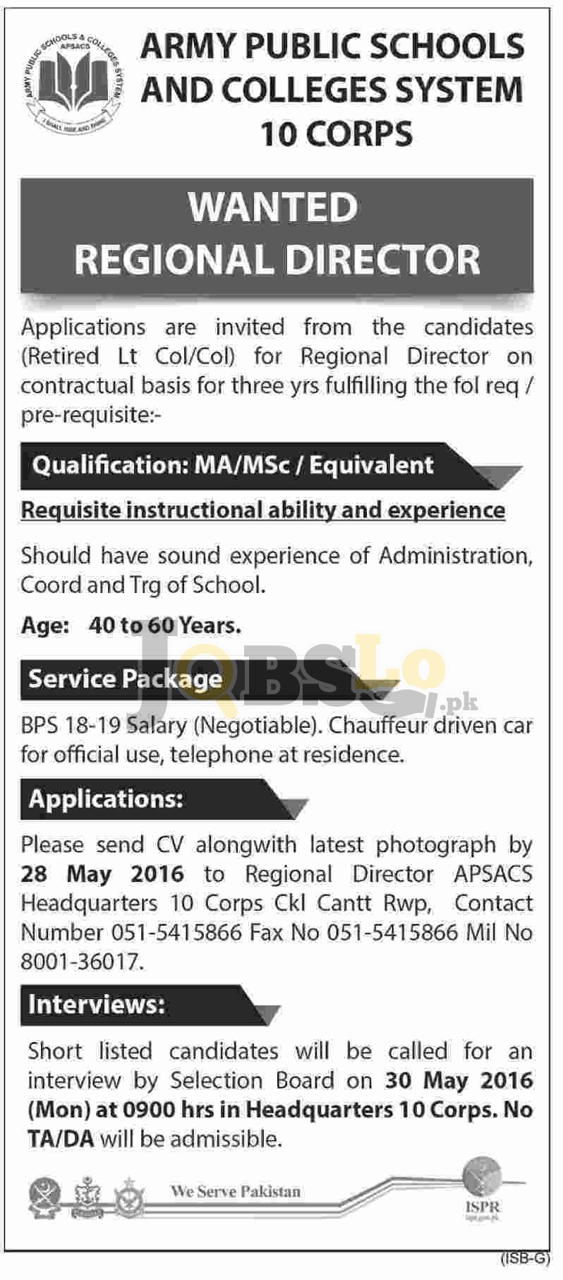 APS & CS Jobs