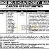 DHA Karachi Jobs July 2016 For System Analyst Eligibility Criteria