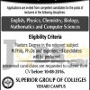 Superior Group of Colleges Vehari Campus Jobs 2016 Faculty Required Latest