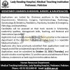 LRH Lady Reading Hospital Jobs 2016 For Chairman Eligibility Criteria