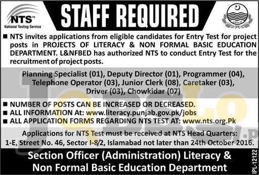 Literacy & NFBE Jobs