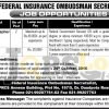 Federal Insurance Ombudsman Secretariat Karachi Jobs Oct 2016 Current Openings