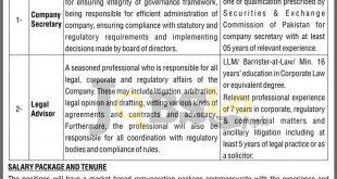 Health Infrastructure Development & Management Company Jobs