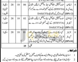 Information Science & Technology Department Sindh Jobs 2016 Apply Online