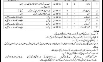 School of Armour and Mechanized Warfare Nowshera Jobs 2016 Current Offers