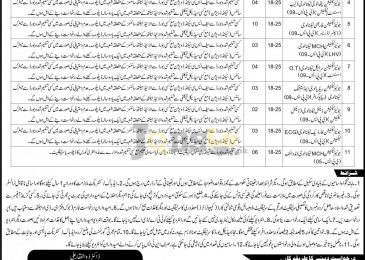 Health Department Manawan Jobs 2017 District Lahore Latest Vacancies