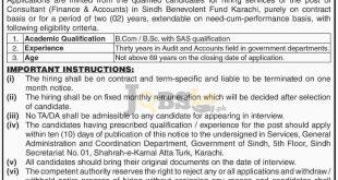 Sindh Benevolent Fund Board Karachi Jobs