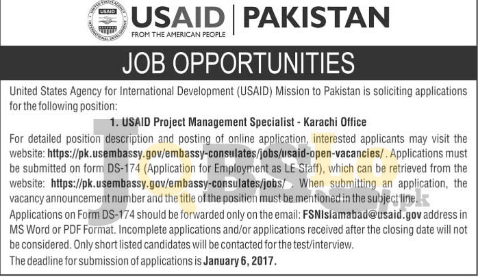 USAID Jobs