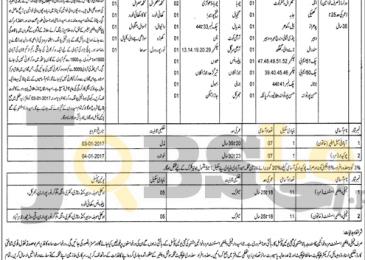 Population Welfare Department Khushab Jobs 2016-2017 For Male & Females