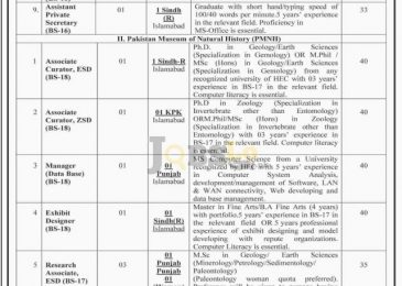 Pakistan Science Foundation PSF Jobs 2016 Ministry of Science and Technology