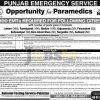 Rescue 1122 Paramedics Jobs 2017 EMT Emergency Medical Technician NTS Form Download