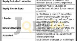University of Faisalabad Jobs