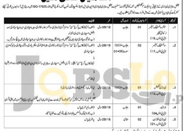 National Veterinary Laboratory Islamabad Jobs 2017 For Scientific Officer