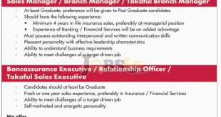 Jubilee Insurance Jobs