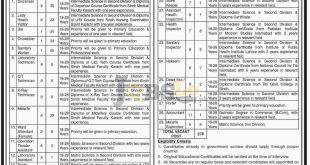 District Health Officer Khairpur Jobs