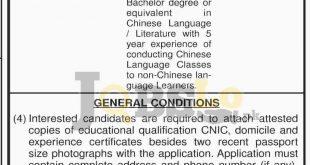 Punjab Jiangsu Cultural Center Jobs