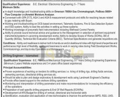 Oil & Gas Pakistan Jobs 2017 January Advertisement Career Offers